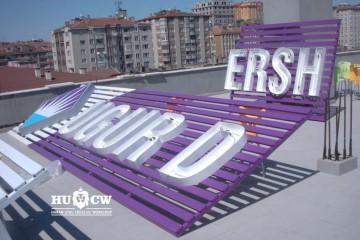 Uğur Dershanesi Türkiye geneli kurumsal neon çatı reklamı çalışması