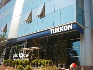 Turkon Holding ışıklı tabela
