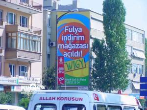 Twıgy duvar reklam uygulama